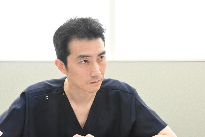 救急総合診療科 科長 雨森俊介先生