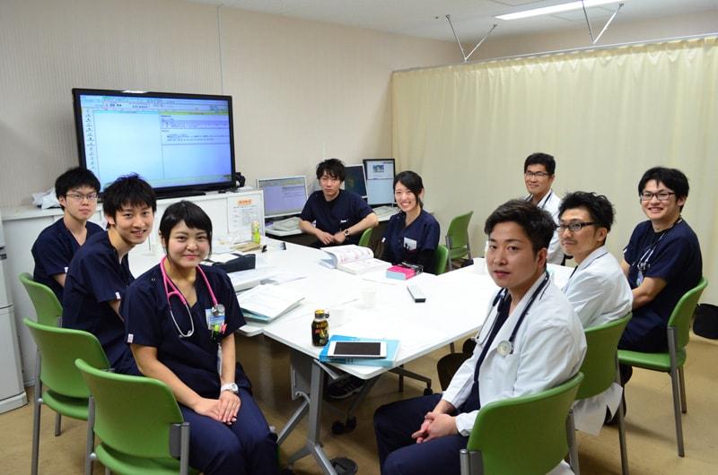 伸び盛りの総合診療部門を、若手医師が中心となって動かしています