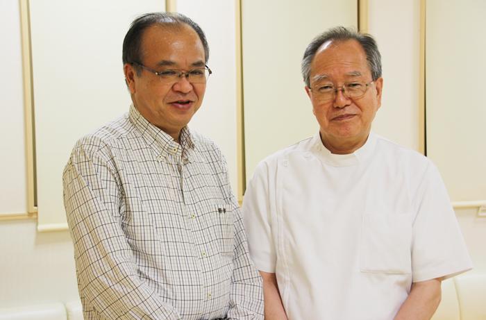 30年以上の時を経て、志を共にする両先生