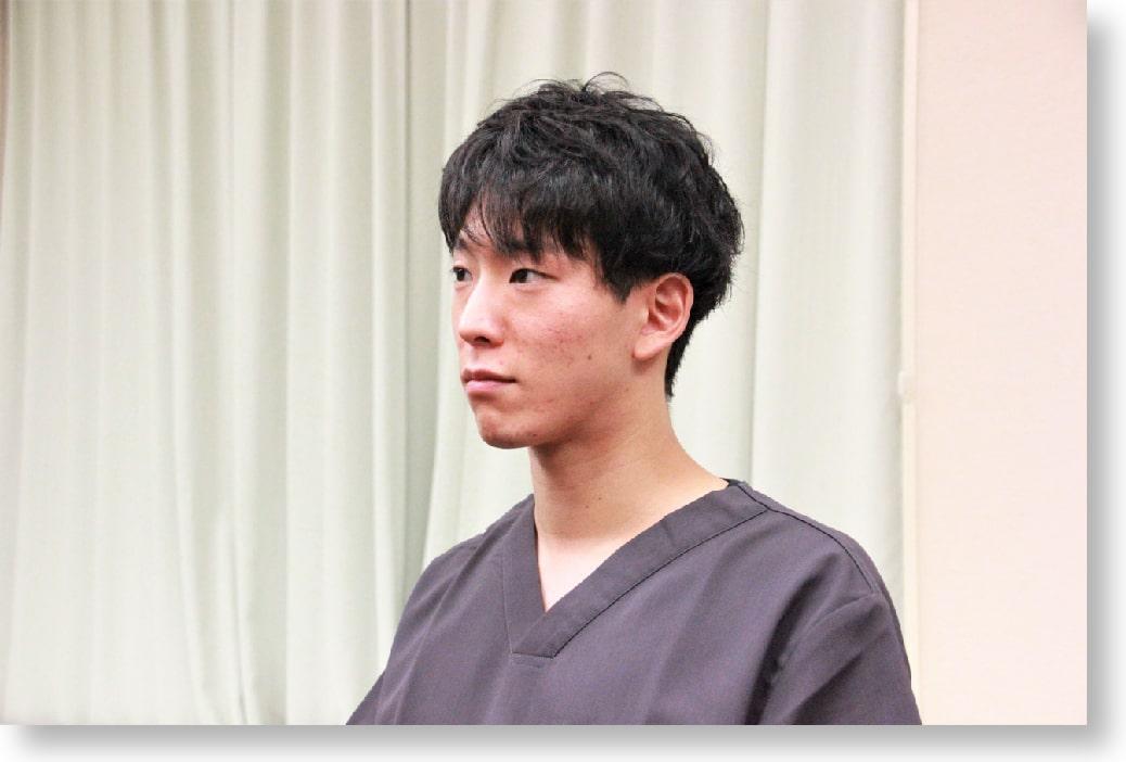 総合大雄会病院 初期研修医1年目 篠田 凌先生