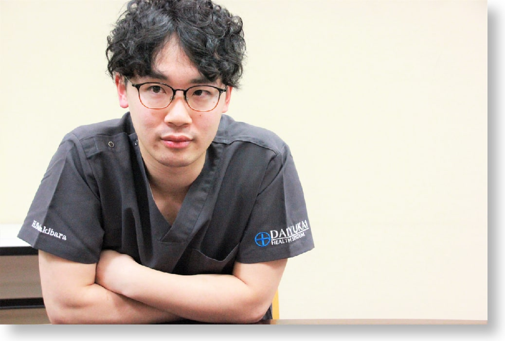 総合大雄会病院 初期研修医2年目 榊原 裕行先生