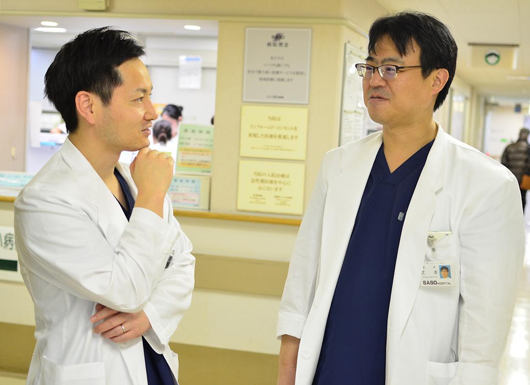 総合的な医療を学べる環境