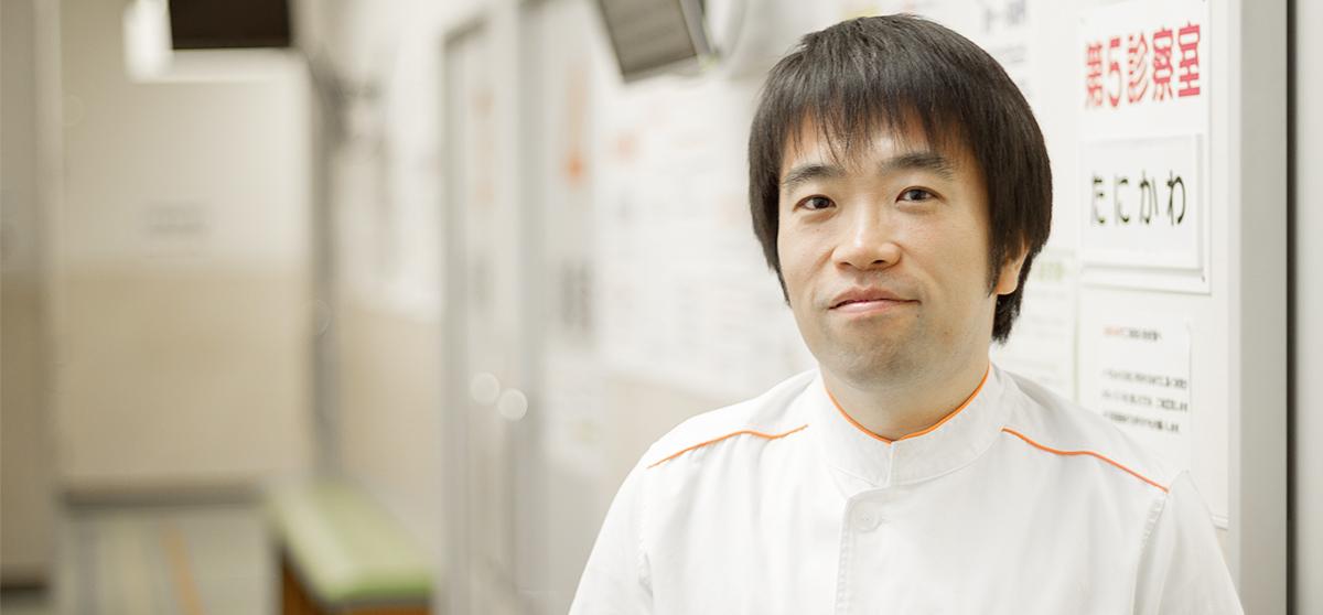 訪問診療部医長 谷川太志先生